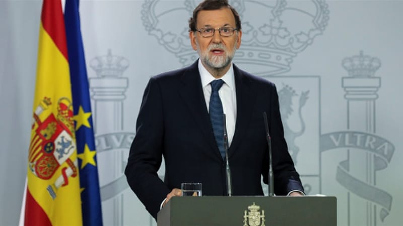 Spain takes step towards suspending Catalonia autonomy