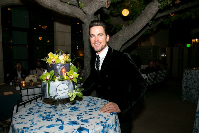 Happy 40th birthday to Matt Bomer!