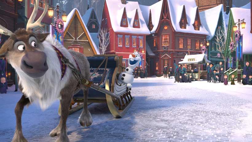 Olaf's Frozen Adventure animated featurette unveils soundtrack details. Hear samples: https://t.co/bU65m8z0Bq https://t.co/fzY0MVojZ2