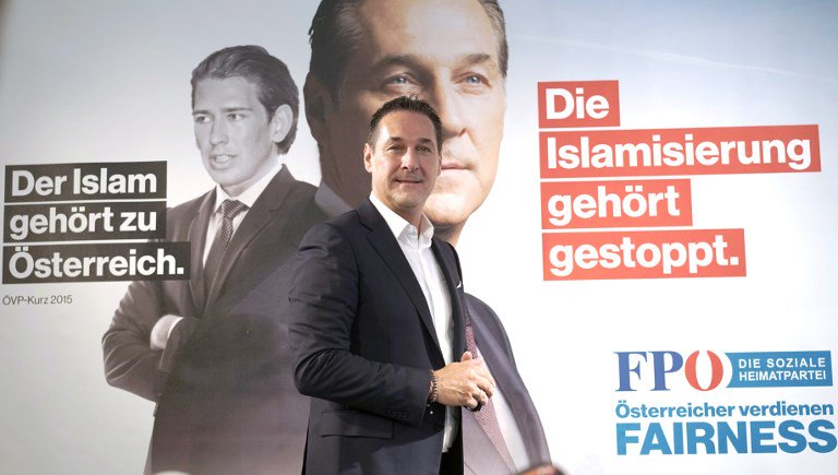 In Austria, rise of pro-Israel, far-right faction forces Israel into corner