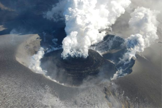 Locals warned to stay away as Japanese volcano erupts - ASEAN/East Asia