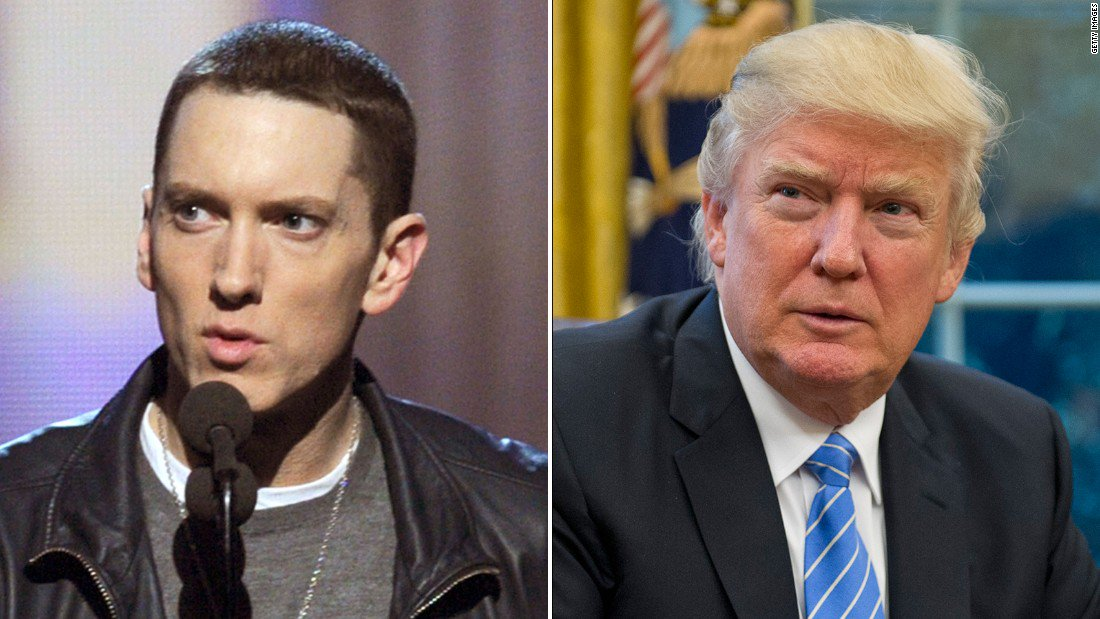 The 11 most explosive lines from Eminem's 4.5 minute freestyle attacking Donald Trump