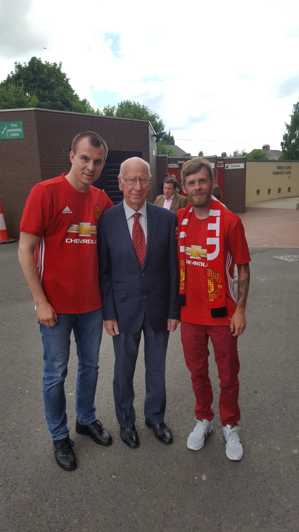 Happy birthday to my personal hero and legend, Sir Bobby Charlton.