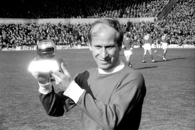 Division 1   European Cup and World Cup  Ballon D\Or Happy birthday, Sir Bobby Charlton!