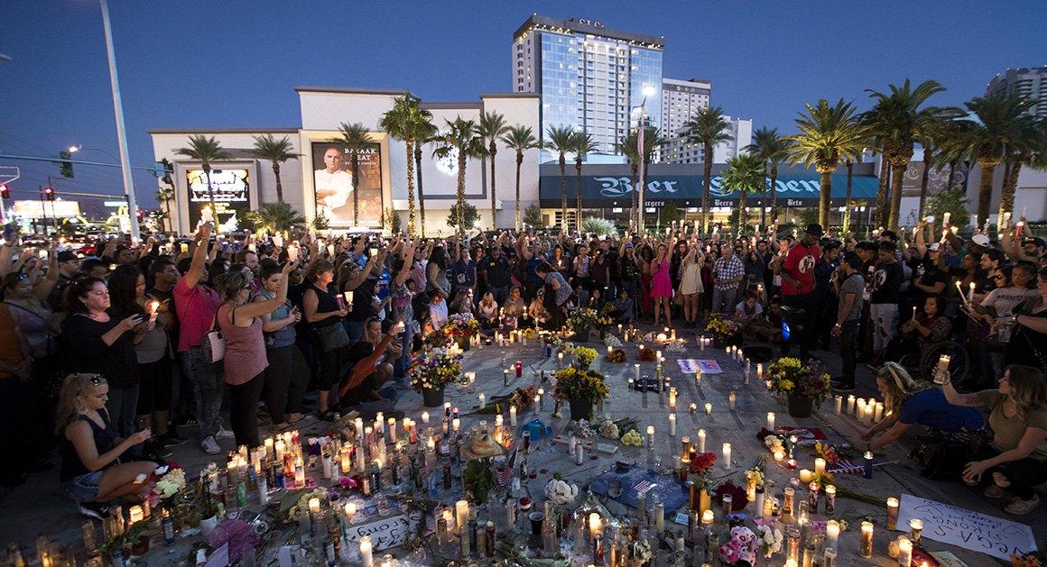 Poll: Majority backs stricter gun control laws after Vegas shooting https://t.co/Z9L92YD6F8 https://t.co/sY42jRWS0A