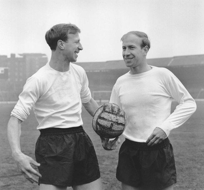 Happy birthday Sir Bobby Charlton. 80 today. Legend.