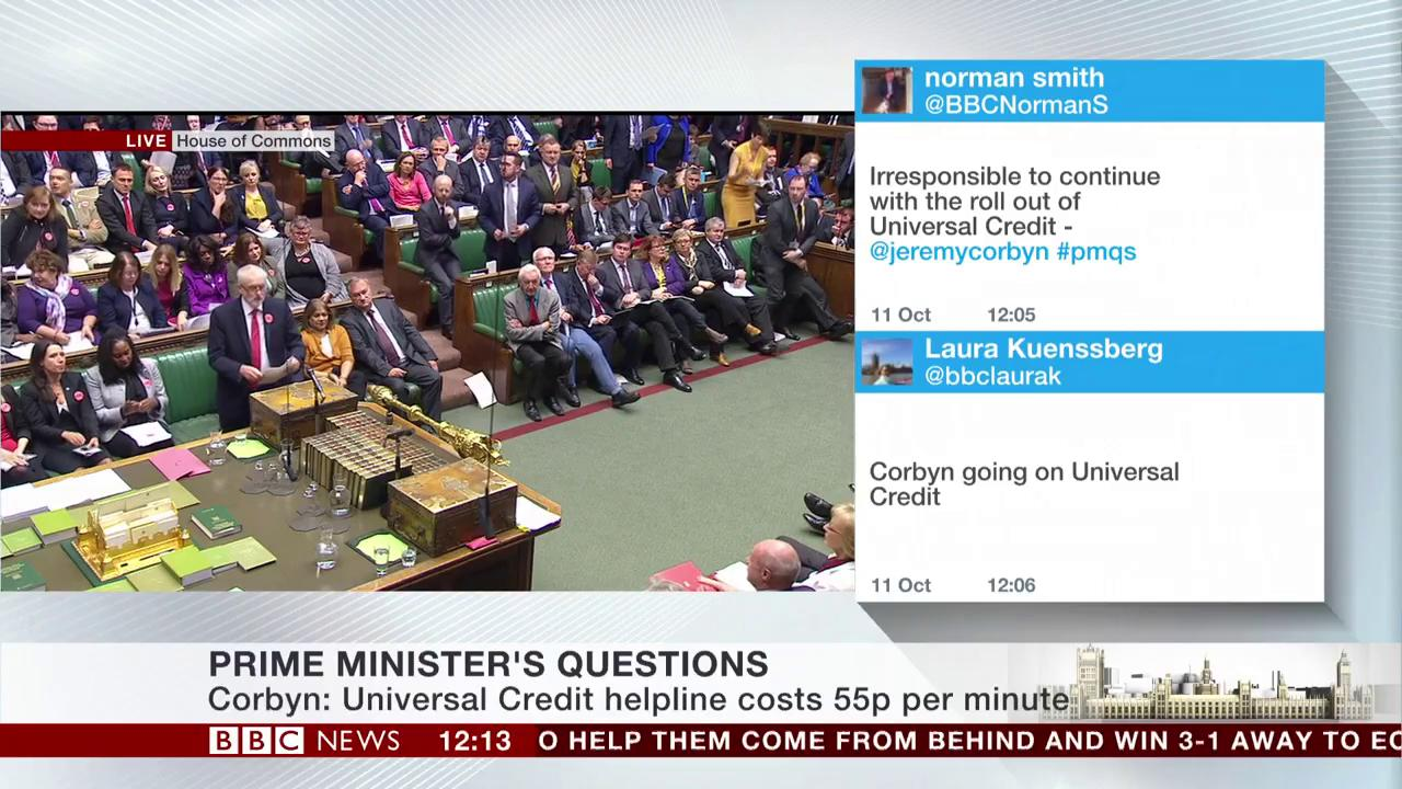 'If the Prime Minister can't lead she should leave' says Jeremy Corbyn #PMQS https://t.co/RKlP7TdYuV https://t.co/Ii5yAntsQ4