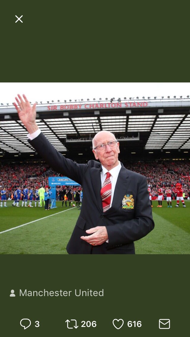 Happy Birthday Sir Bobby Charlton.
