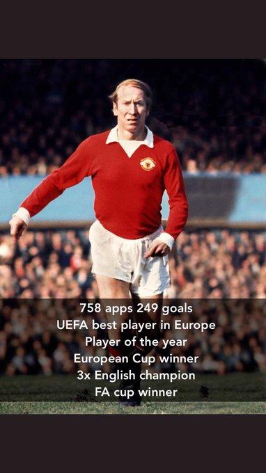Happy 80th Birthday to club legend, Sir Bobby Charlton