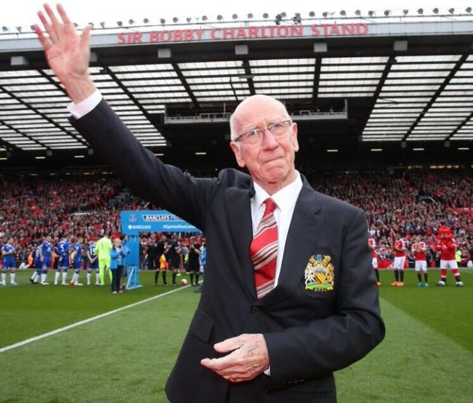 Happy Birthday Sir Bobby Charlton and I hope u have great day!