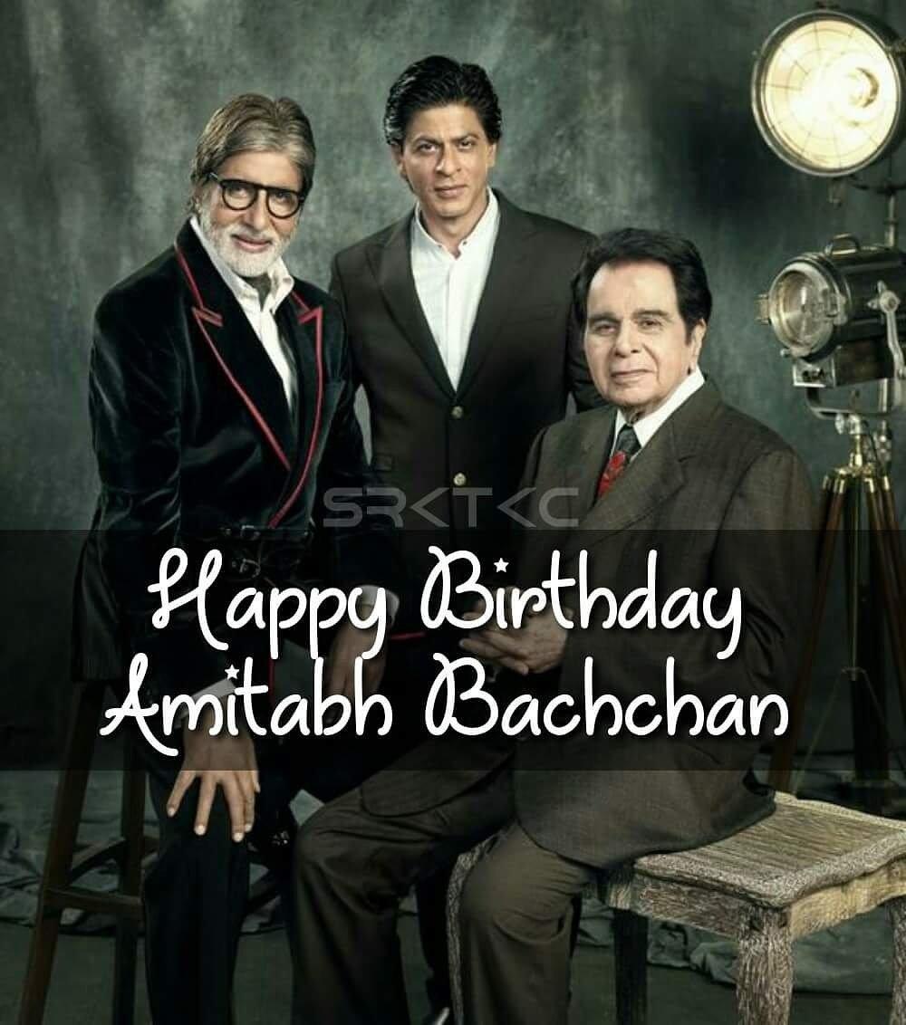 Happy birthday Amitabh Bachchan jii