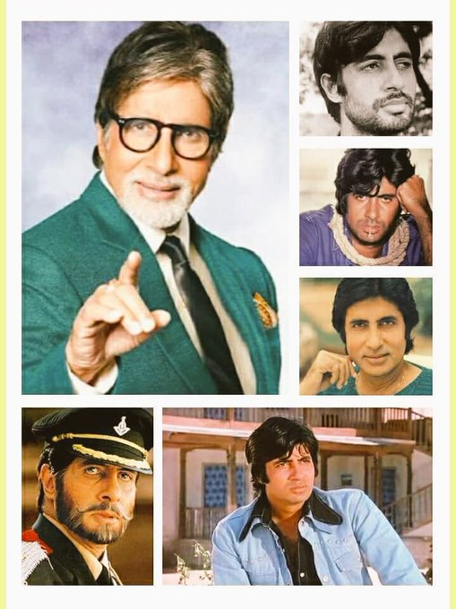 Happy birthday to Amitabh bachchan for 75th birthday