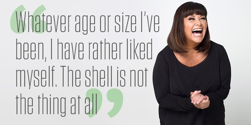Happy birthday to the wonderful Dawn French, who turns 60 today!