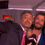 Red carpet and selfies roll out for premiere of Thor:Ragnarok
