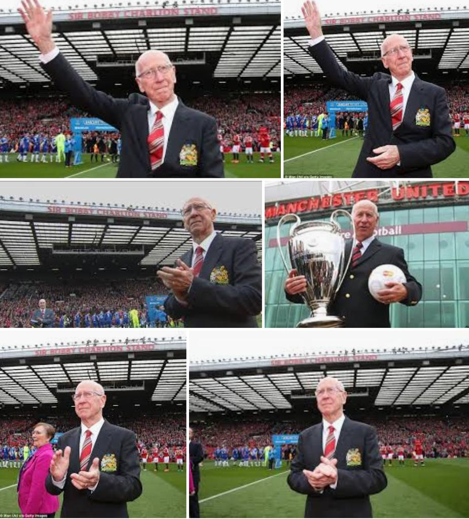 Happy birthday to our Legend Sir Bobby Charlton