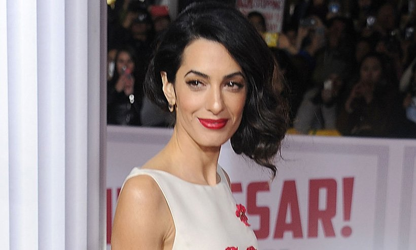 Amal Clooney's Oscar de la Renta wedding dress has been featured in a new exhibit: