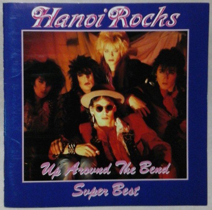 HANOI ROCKS UP AROUND THE BEND SUPER BEST Andy McCoy Happy Birthday