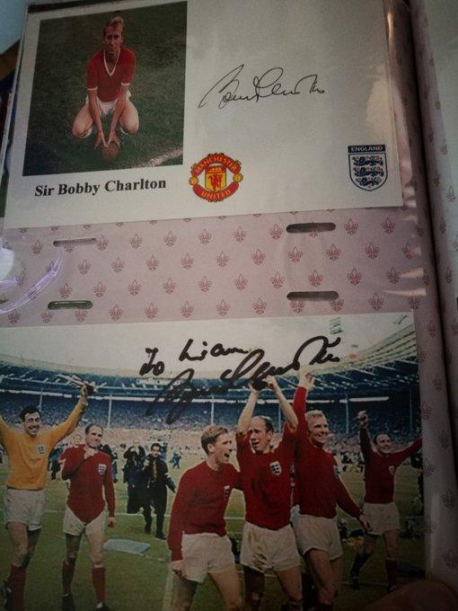 A Legend in football Happy 80th Birthday Sir Bobby Charlton