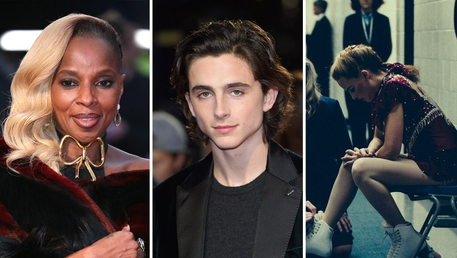 .@maryjblige, @RealChalamet, 'I, Tonya' cast to be honored at Hollywood Film Awards