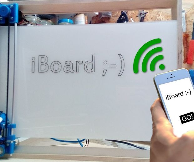 IBoard! Web-Controlled Whiteboard https://t.co/BDDTPQlgsC https://t.co/4rAuSlTh4h