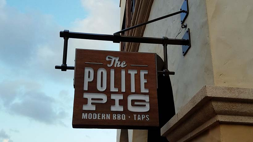 The Polite Pig at Disney Springs revises menu. What do you think of the changes? https://t.co/cU3hvjGFs1 https://t.co/q74bBTSp4D