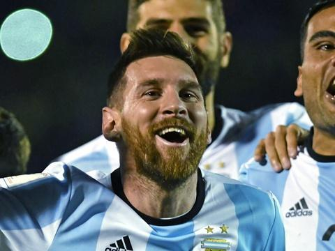 Coupe du monde 2018: L'Argentine arrache sa qualification grâce à Messi
