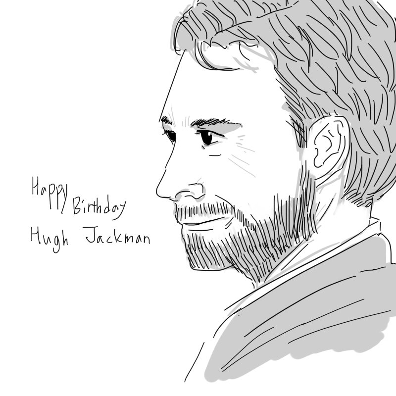 HAPPY BIRTHDAY HUGH JACKMAN ! LOVE YOU :D