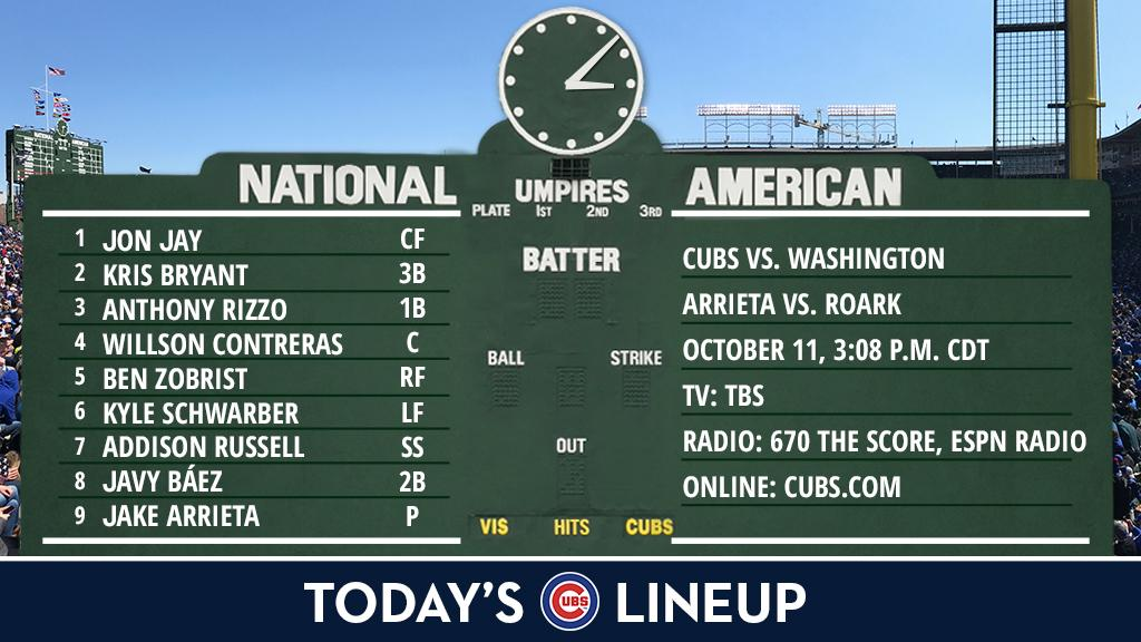 NLDS Game 4, take two.  Game preview: https://t.co/gwSBoCZvdR https://t.co/xbQy70E6b6