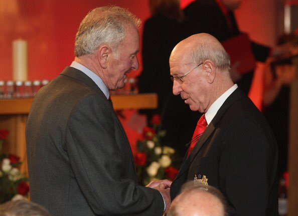 Happy 80th Birthday to Sir Bobby Charlton from H and all at the