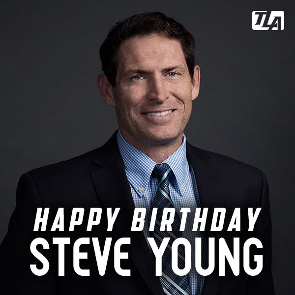 Happy Birthday to Hall of Fame QB Steve Young!