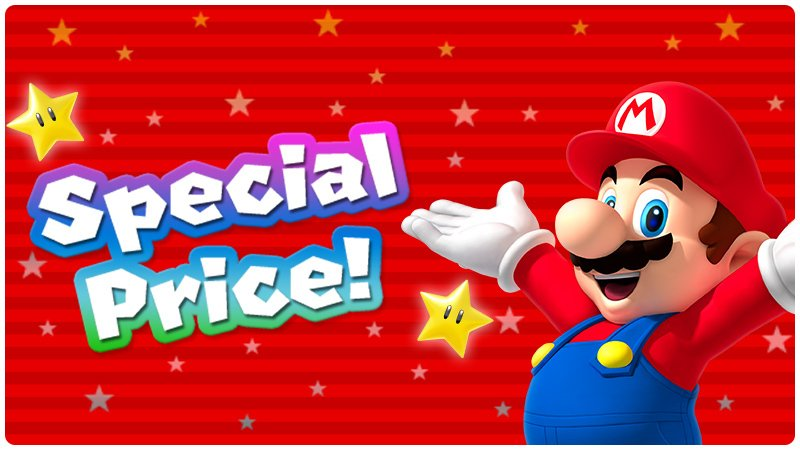 Last chance to get the $4.99 special #SuperMarioRun price celebrating the update! Available until tomorrow. https://t.co/tgW3In1dd7