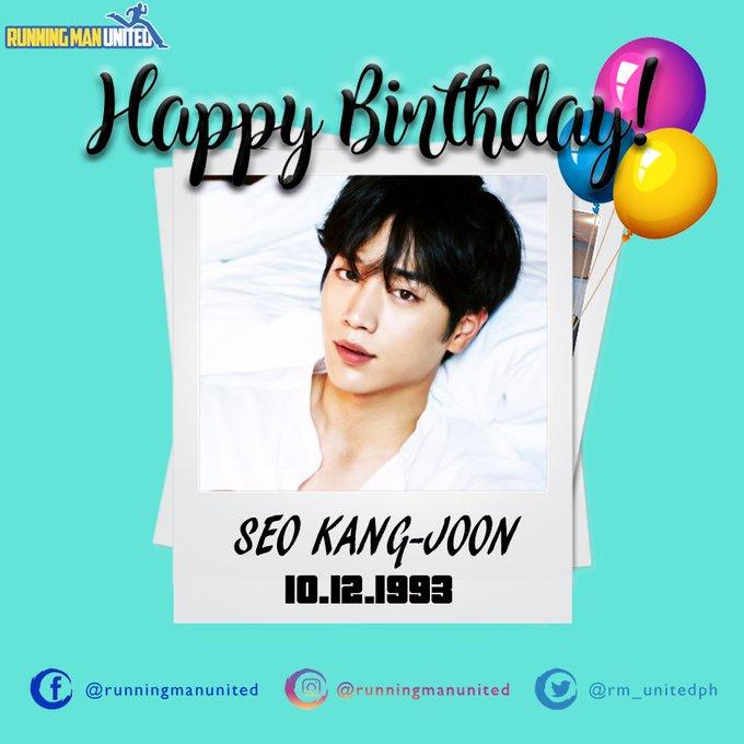 Happy Birthday Seo Kang-joon!