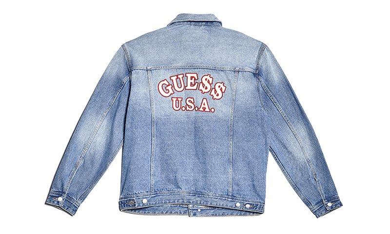 Here's an exclusive Look at @asvpxrocky's latest GUESS capsule:   https://t.co/gIEPFn3709 https://t.co/tRduEO4bjP