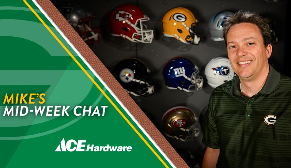 Join #Packers senior writer @mikespofford for his weekly chat at 12 p.m. CT  ��: https://t.co/3817wcvITI https://t.co/5PYH5bAIb5