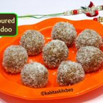 Coconut Ladoo Recipe | १० मिनट में बनाए नारियल लडू | Coffee Flavored Ladoo | Sweets | Kabitaskitchen