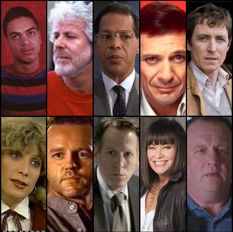 Oct 11 Happy Birthday part 1: Earle Charles Felton Ron John Catlin David Stephen Eric