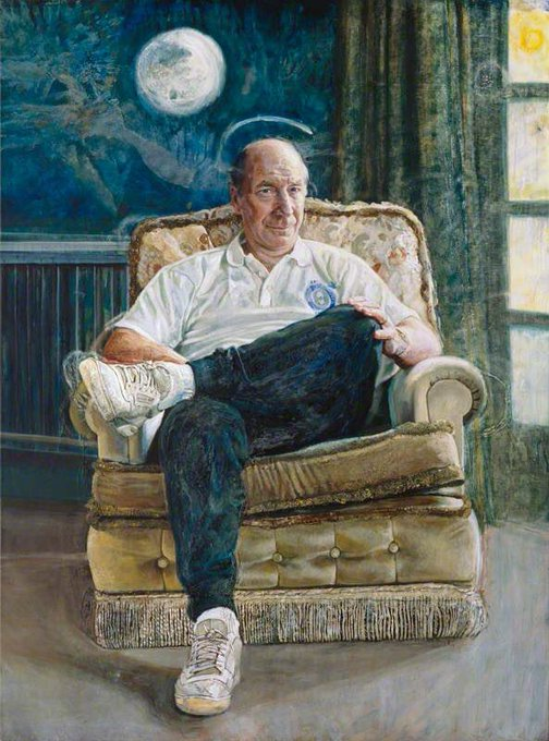 Happy 80th Birthday Bobby Charlton - here is the definitive portrait by the genius that is