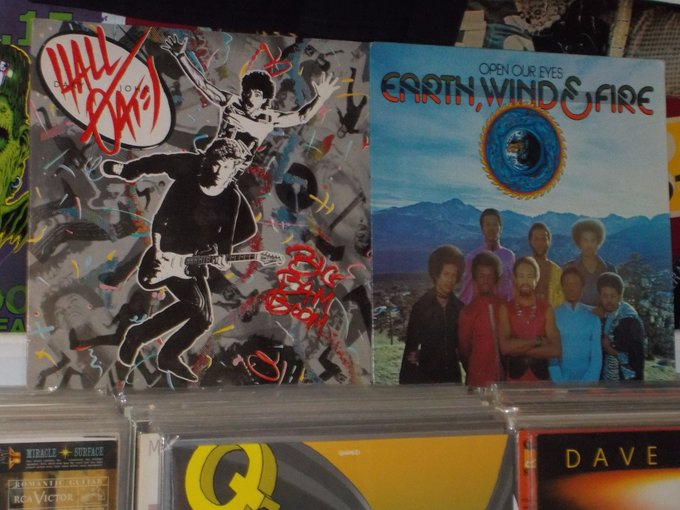 Happy Birthday to Daryl Hall of Hall & Oates and Andrew Woolfolk of Earth Wind & Fire