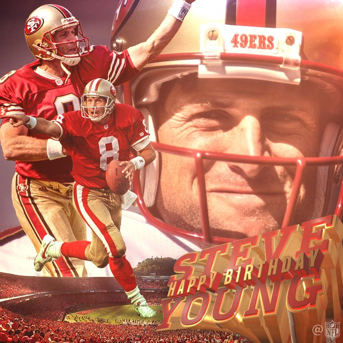 Join us in wishing legend Steve Young a Happy 56th Birthday!