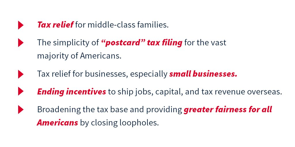 Learn more about the Unified Framework for fixing our broken tax code: https://t.co/PHLKC9uzON https://t.co/R4ZYblaNHN