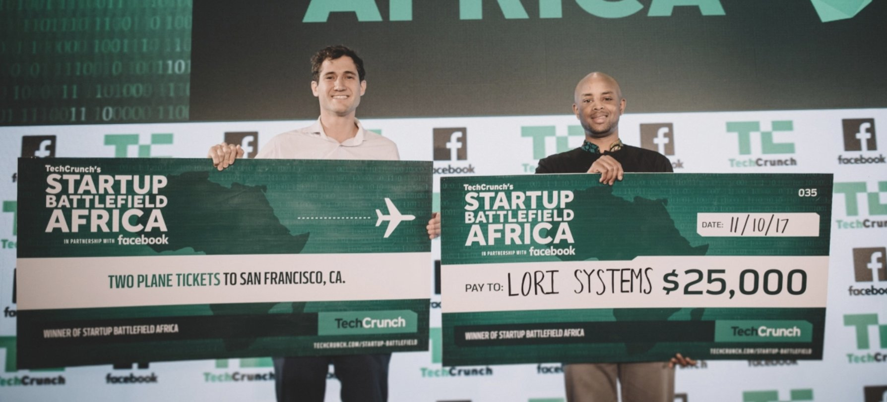 Lori Systems wins Best of Show at Startup Battlefield Africa https://t.co/uF2hj13CZ9 https://t.co/NkobWIg3RT