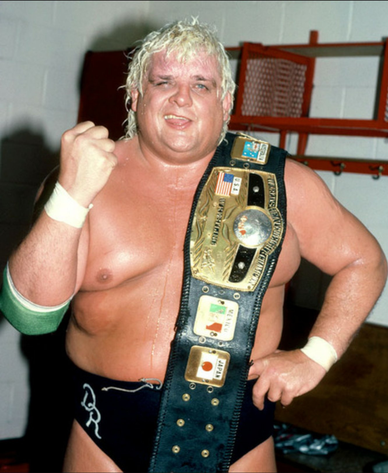 Happy birthday to my first wrestling hero. The American Dream Dusty Rhodes.