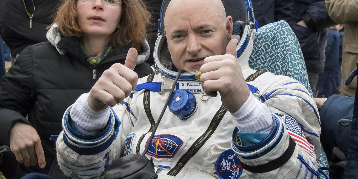 Astronaut's memoir provides blunt take on year in space