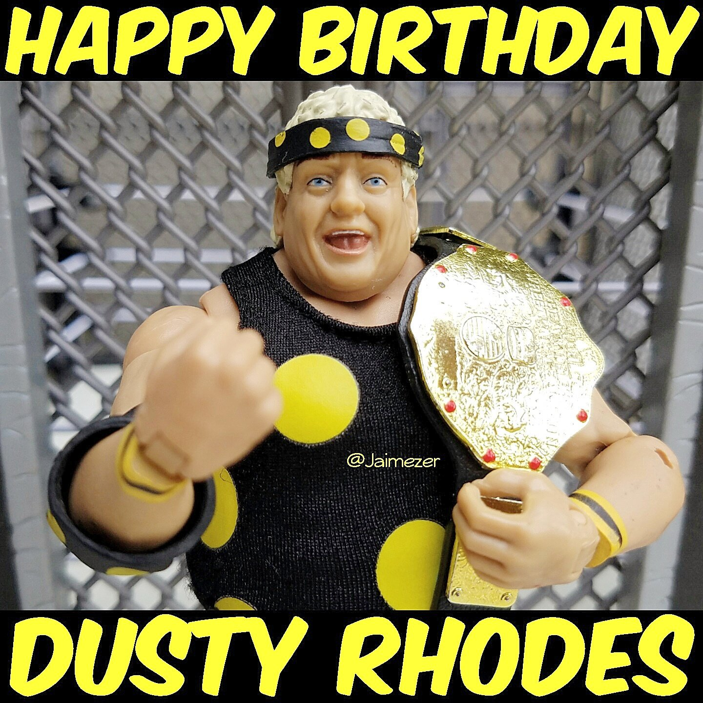 Happy Birthday to WWE Hall of Famer, the American Dream, Dusty Rhodes! RIP Dusty!