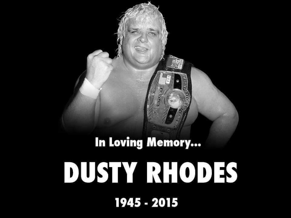 Happy birthday to The American Dream, Dusty Rhodes.