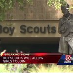 New England Boy Scouts react to news about girls allowed to join