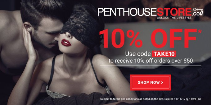 #PenthouseStore is active! For discounts, click the link below! https://t.co/81ZBe5hBDM https://t.co