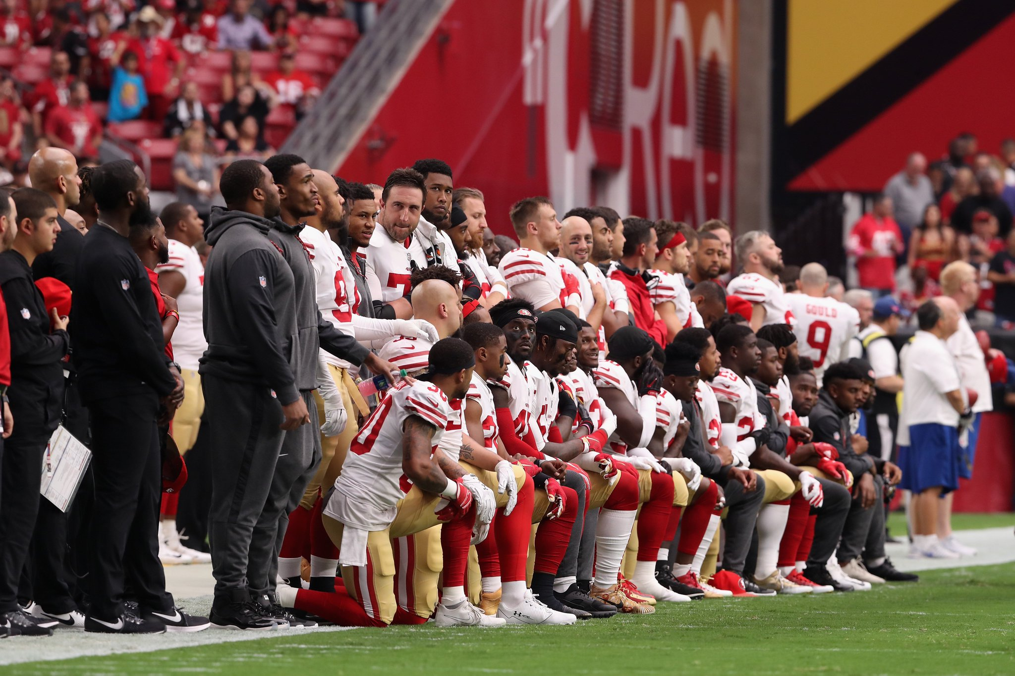 NFL and NFLPA announce no changes to national anthem policy, players can remain kneeling https://t.co/bFDCcF0psf https://t.co/EEzdxJ4AYx