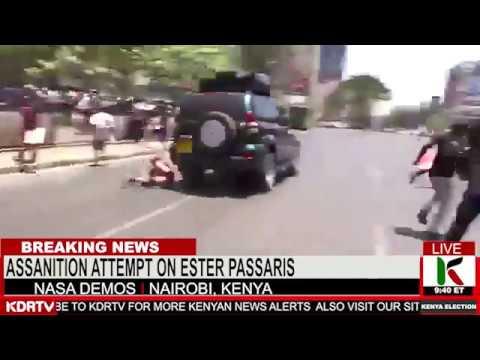 KTN KENYA : KENYA IN SHOCK AS ESTHER PASSARIS ASSASSINATION ATTEMPT LEAKED   KENYA NEWS
