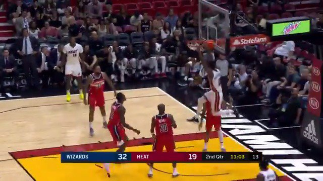 Josh Richardson rises for the @MiamiHeat! #NBAPreseason https://t.co/F9NGKXhvCe